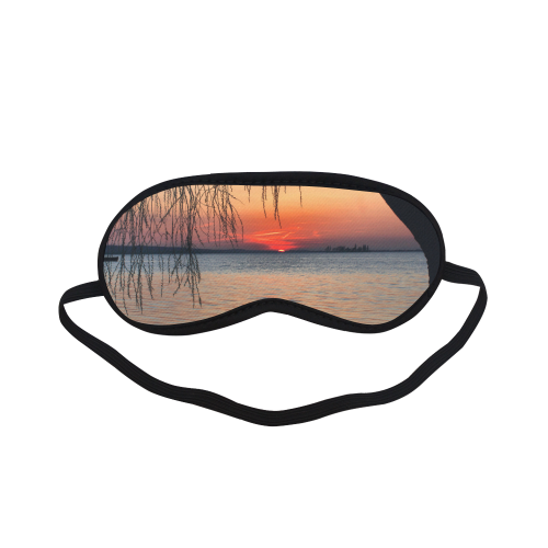 Sunrise Tree Romantic Spring  Water Sea Sleeping Mask