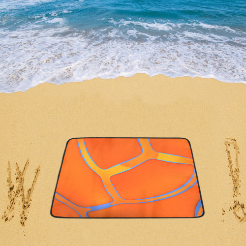 """Nothing Rhymes With Orange Beach Mat 78""""x 60"""""""