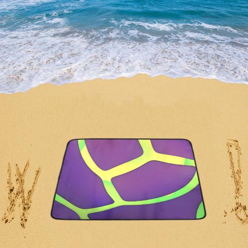 "Eggplant Beach Mat 78""x 60"""