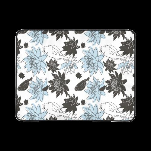 """Bird and Flower Beach Mat 78""""x 60"""""""