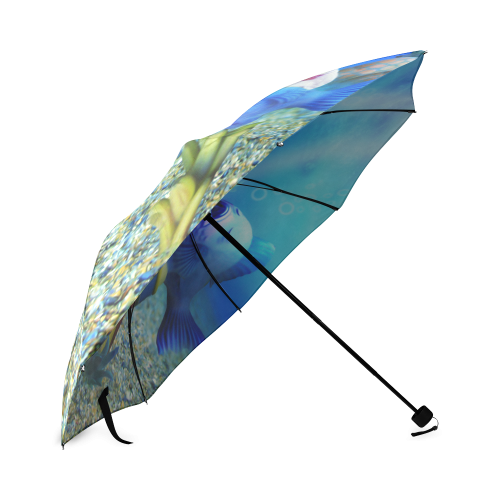 The Singing Fish Foldable Umbrella