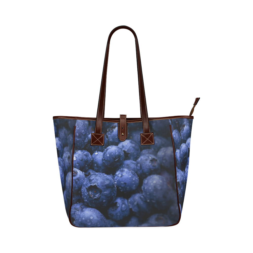 Blueberries Classic Tote Bag (Model 1644)
