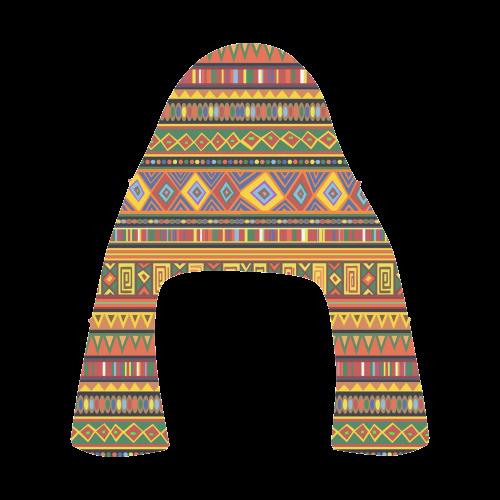 Ethnic Colorful Pattern Africa Art Apus Slip-on Microfiber Men's Shoes (Model 021)