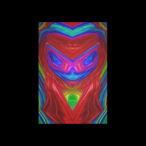 """sd blauer alien Cotton Linen Wall Tapestry 40""""x 60"""""""