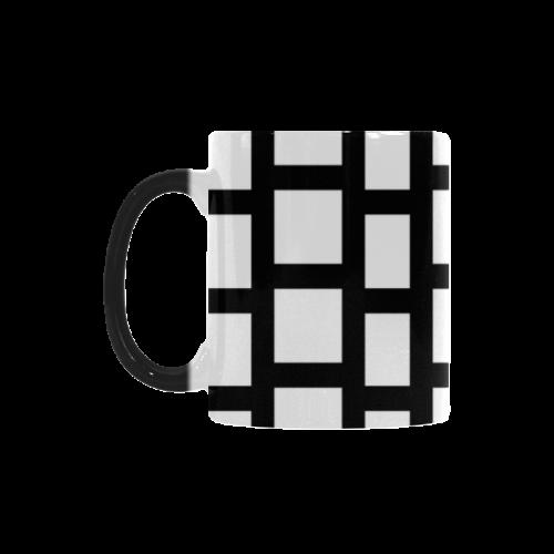 Exclusive Vintage Black Edition with Design Blocks Custom Morphing Mug