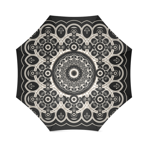 Black Lace Foldable Umbrella
