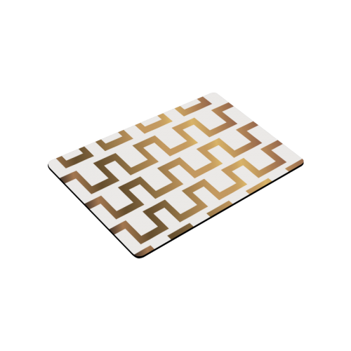 """Exclusive Black and Gold Vintage Doormat 30""""x18"""""""