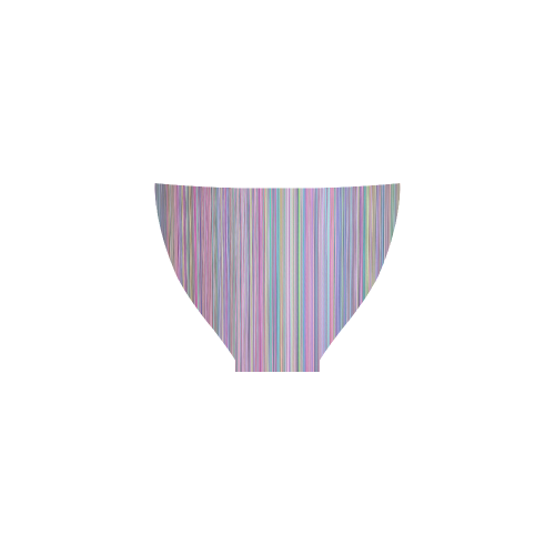 Broken TV Screen Test Pattern Custom Bikini Swimsuit
