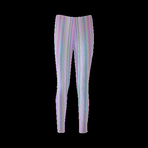Broken TV Screen Test Pattern Cassandra Women's Leggings (Model L01)