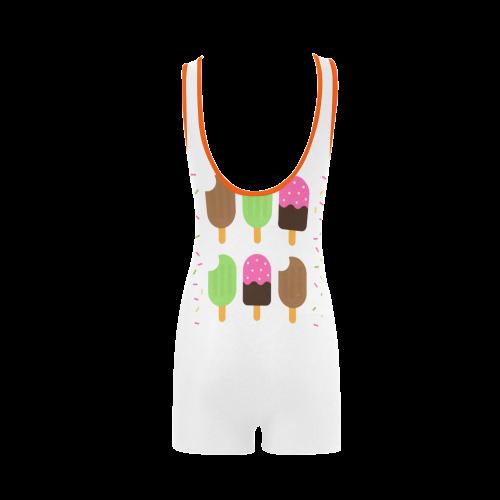 Summertime Treats Classic One Piece Swimwear (Model S03)