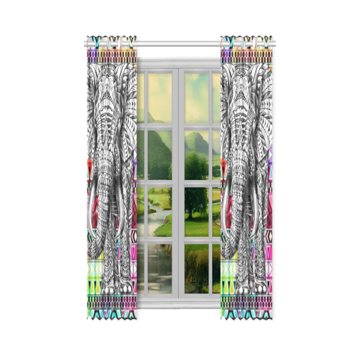 "Artsadd New Window Curtain 50"" x 108""(One Piece)"