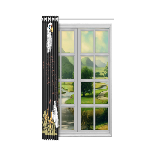 "Artsadd New Window Curtain 52"" x 84""(One Piece)"