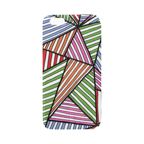Colourful Zen Stripes Cover Case for iPhone6s 4.7""
