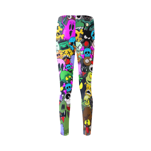 Monsters Doodles Characters Saga Cassandra Women's Leggings (Model L01)