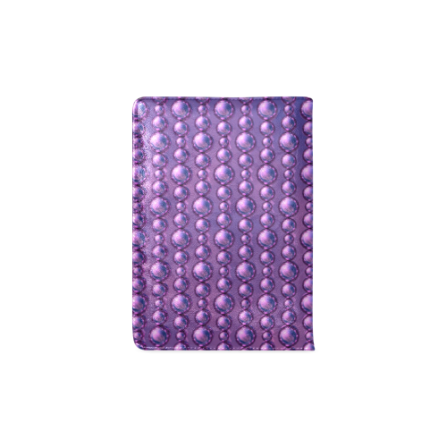 Lavender Beads Custom NoteBook A5