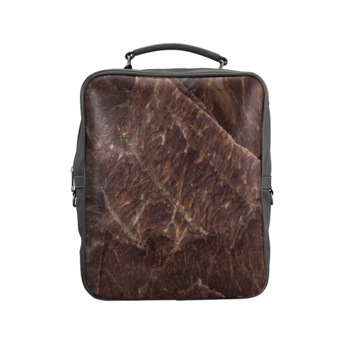 Beef Jerky Square Backpack (Model 1618)