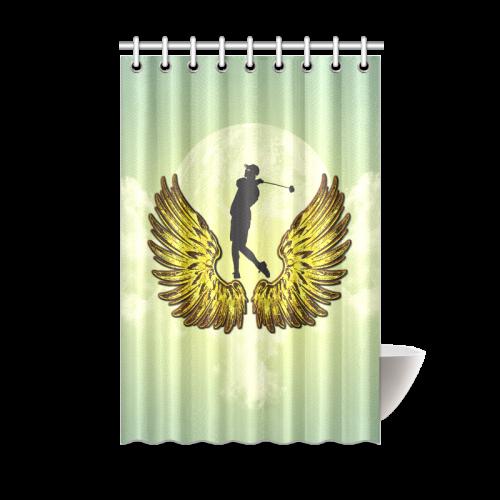 Sport Golf Shower Curtain 48x72