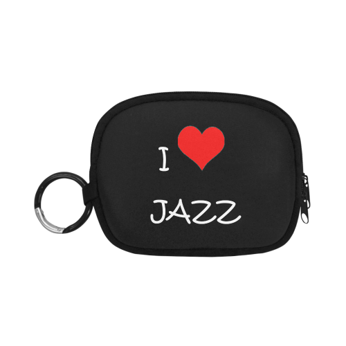 I love Jazz Coin Purse (Model 1605)