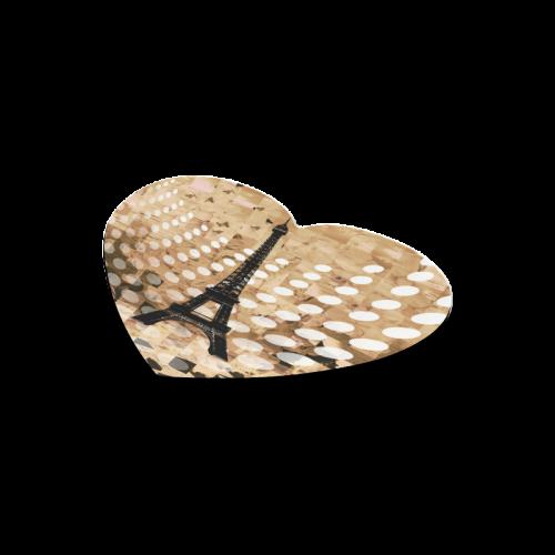 Paris Heart-shaped Mousepad