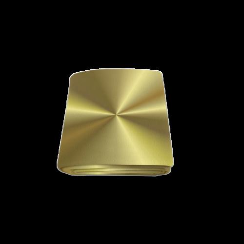 "Gold Sun Rays Blanket 50""x60"""
