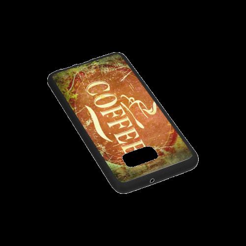 Coffee Rubber Case for Samsung Galaxy S6 edge+