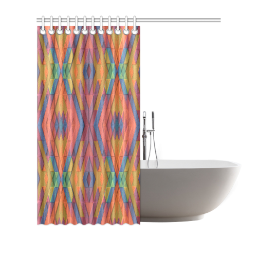 """South of the Border Shower Curtain 72""""x72"""""""