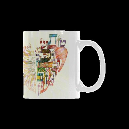 hebrew alphabet White Mug(11OZ)