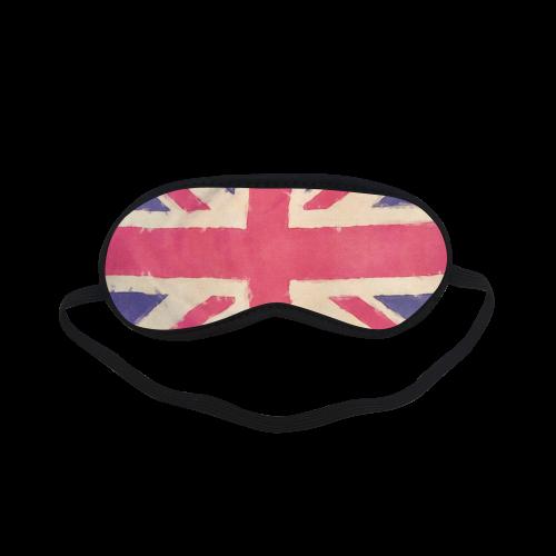 British UNION JACK flag grunge style Sleeping Mask