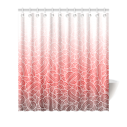 Piano Sax Music Graphic Print Shower Curtain By Juleez