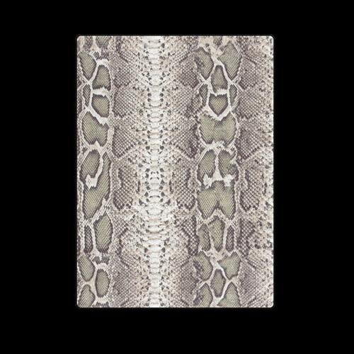 "Snake Skin Pattern Blanket 58""x80"""