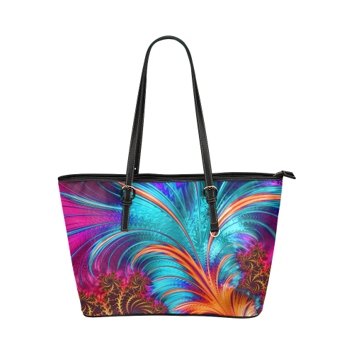 pattern20160751 Leather Tote Bag/Large (Model 1651)
