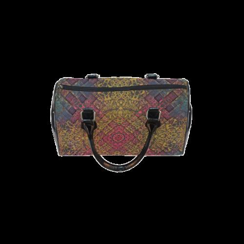 Magic mandala 3 Boston Handbag (Model 1621)