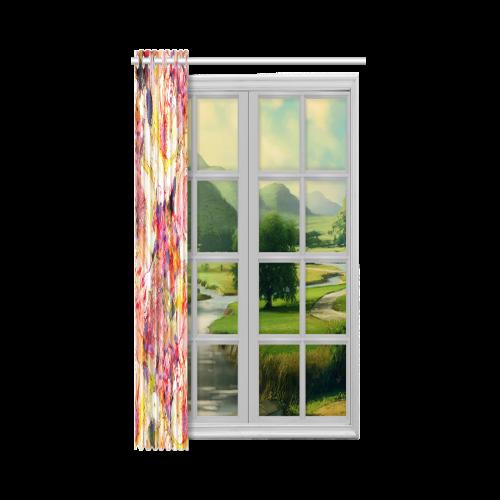 """flora 5 New Window Curtain 52"""" x 84""""(One Piece)"""