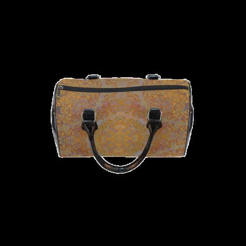 Magic mandala 2 Boston Handbag (Model 1621)