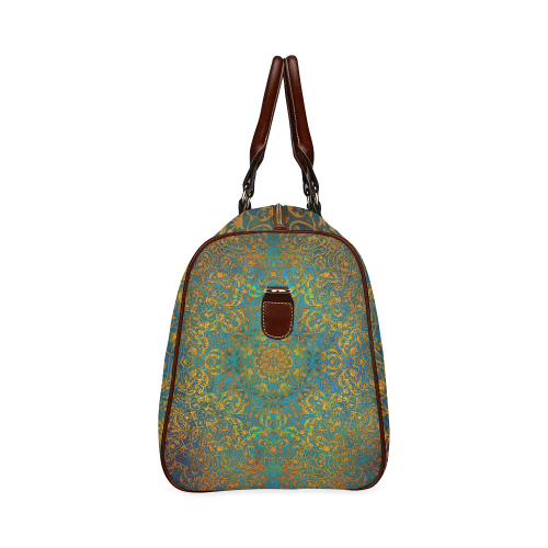 magic mandala 1 Waterproof Travel Bag/Large (Model 1639)