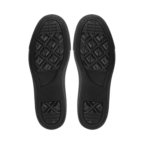 Black_Pattern_20160701 Aquila Microfiber Leather Women's Shoes (Model 028)