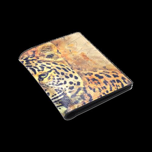 gepard Men's Leather Wallet (Model 1612)