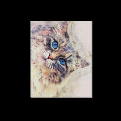 "cat Canvas Print 20""x16"""