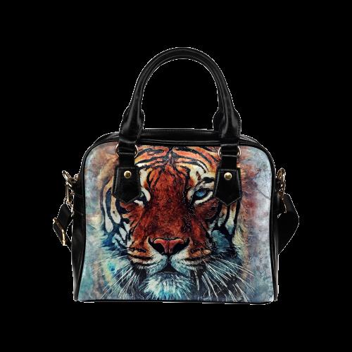 tiger Shoulder Handbag (Model 1634)