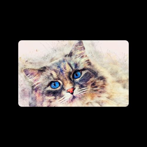 """cat Doormat 30""""x18"""""""