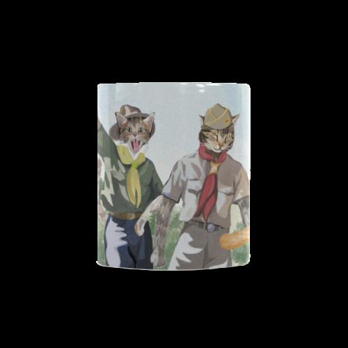 Cat Scouts International Coffee Mug White Mug(11OZ)