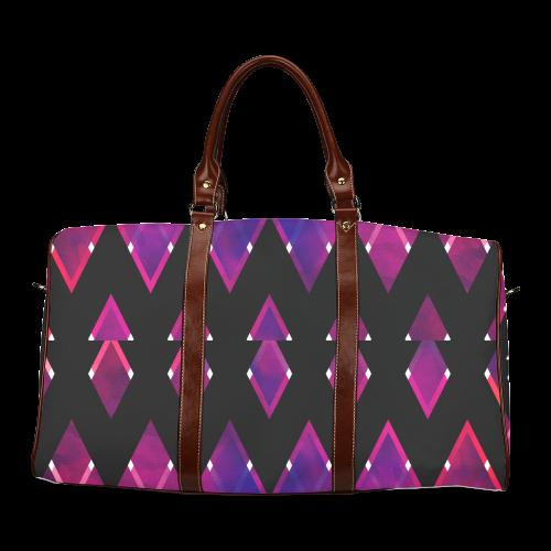 texture 1 Waterproof Travel Bag/Large (Model 1639)