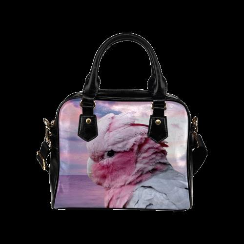 Galah Cockatoo Shoulder Handbag (Model 1634)