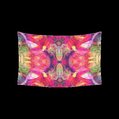 "mandala Cotton Linen Wall Tapestry 60""x 40"""