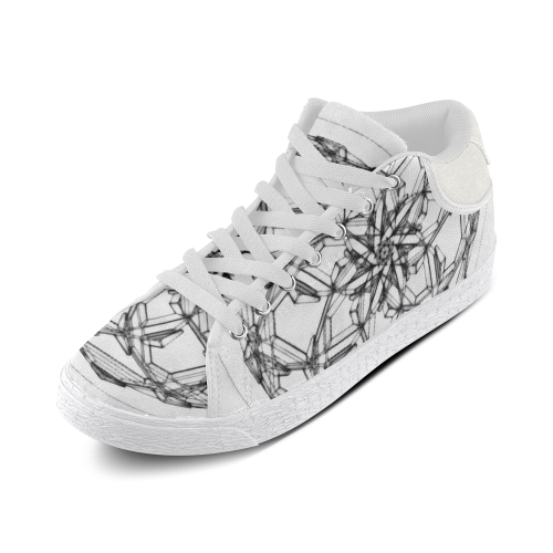 DANCING UNIVERSE Women's Chukka Canvas Shoes (Model 003)