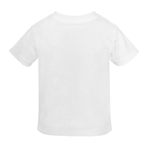 Judaism Symbols Golden Jewish Star of David Sunny Youth T-shirt (Model T04)
