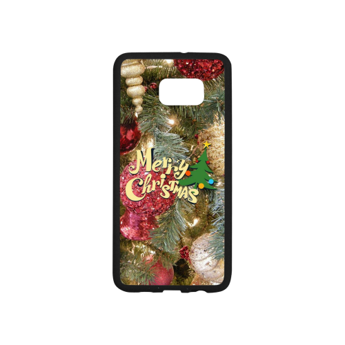 merry christmas 5152 Rubber Case for Samsung Galaxy S6 edge+