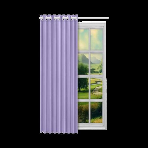 "Paisley Purple New Window Curtain 52"" x 63""(One Piece)"