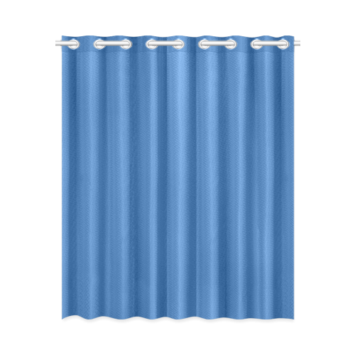"Palace Blue New Window Curtain 52"" x 63""(One Piece)"
