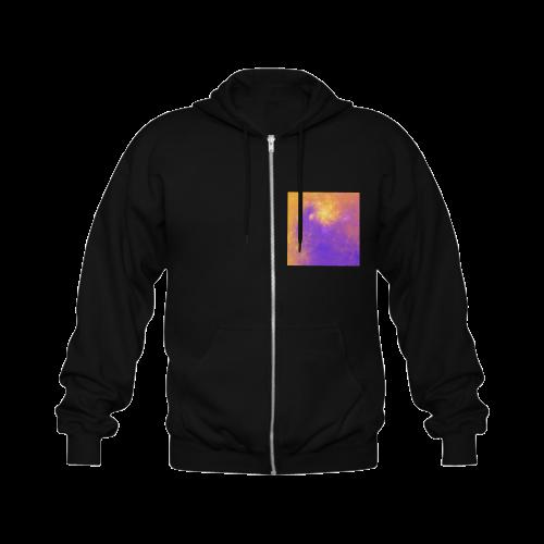 Colorful Universe Gildan Full Zip Hooded Sweatshirt (Model H02)